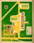 1941-1953. Reconstruction (2e guerre mondiale). Village de Bosquel (Somme) : plan d'ensemble.